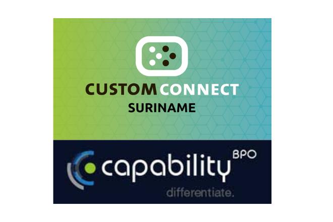 Logo Custom Connect - ICT Associatie Lid